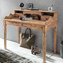 FineBuy Schreibtisch Massivholz Konsole |