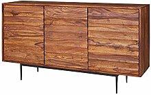 FineBuy Sideboard FB51424 Sheesham Massivholz