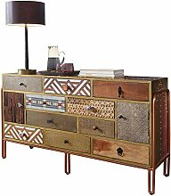 FineBuy Sideboard Finley 137x81x45 cm Metall