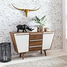 FineBuy Sideboard GARA Sheesham Massiv Holz 140 x