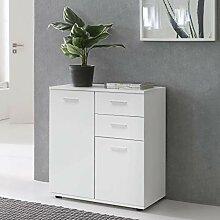 FineBuy Sideboard mit Türen & Schubladen