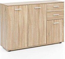 FineBuy Sideboard mit Türen & Schubladen FB11847