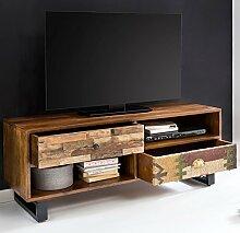 FineBuy TV Lowboard Kanpur 120 x 47 x 40 cm Massiv
