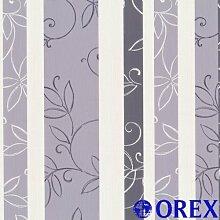 Finesse Tapete P+S 05623-50 Tapete Blumen Streifen viole