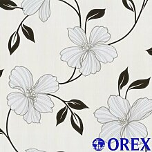 Finesse Tapete P+S 05624-40 Tapete Blumen grau