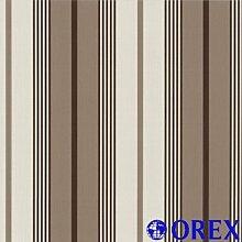 Finesse Tapete P+S 05639-60 Tapete Streifen braun