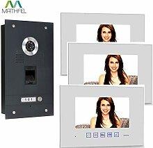 Fingerprint Video Türsprechanlage mit