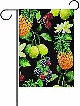 fingww Blumen Flagge Tropische Ananas