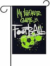 fingww Fahne Süßfußballspiel Sport Dekorativer