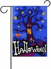 fingww Flagge Happy Halloween Day Yard Flagge