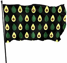 fingww Garten Flagge Green Organic Avocado