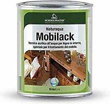 Finish oder Boden für Holz allacqua transparent matt 1lt- mobilack Shabby -