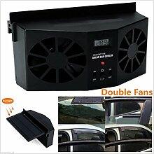 Finlon Kfz Solarbetriebene Mini Air Conditioner