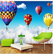 Finloveg 3D Wandbild Luft Heißluftballon Auf Den