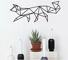 Finloveg Geometrische Fox Wandaufkleber Wohnzimmer