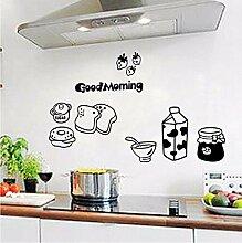 Finloveg Guten Morgen Frühstück Wandtattoos