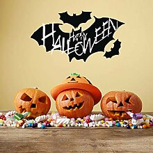 Finloveg Happy Halloween Wandtattoos Fenster