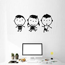 Finloveg Kinder Design Wandaufkleber Für