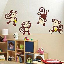 Finloveg Niedlichen Cartoon Tier Baby Affen