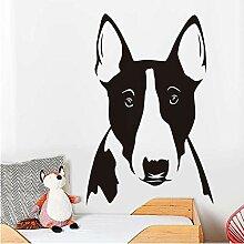 Finloveg Niedlichen Dog Bull Terrier Porträt