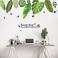Finloveg Pflanzen Dekorative Wandaufkleber