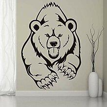 Finloveg Tier Grizzlybär Wandaufkleber Für