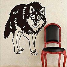 Finloveg Tier Wolf Wandaufkleber Für Kinderzimmer