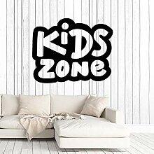 Finloveg Vinyl Wandtattoo Kinder Zone