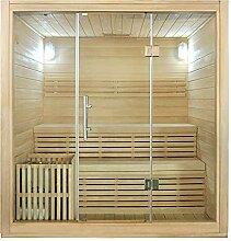 Finnische Sauna incl. Ofen MARIKA