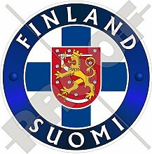 FINNLAND SUOMI Finnisch 100mm Auto & Motorrad