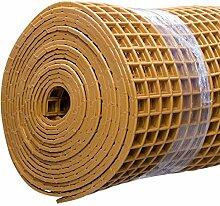 Finnsa Kunststoff Saunaläufer in 100 x 100cm, Beige
