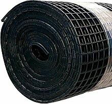 Finnsa Kunststoff Saunaläufer in 100 x 80cm, Schwarz