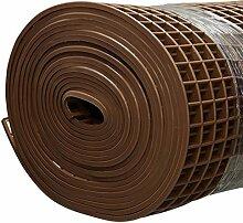 Finnsa Kunststoff Saunaläufer in 200 x 80cm, Braun