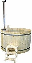 FinnTherm Hot Tub - Badebottich aus Fichte - Rund