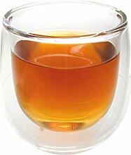 Finum 4246501 Heißglas, doppelwandig, 130 ml, glas