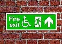Fire Exit HSE Schild Gesundheit & Sicherheit
