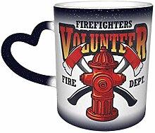 Firefighter Logo Farbwechsel Sternenhimmel Becher