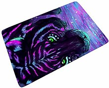 Firelife Tiger Fußmatte Gummi Türmatte