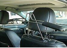 Fireman 's Stahl Sicherheit Kopfstütze Auto Kleiderbügel Breite verstellbar Einfache Installation tolle Hohe Qualität Kopf Rest Kleiderbügel–für ordentlichen, sicheres Aufhängen von Jacken & Kleidung Hinter dem Sitz