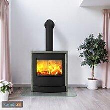 Fireplace Adamis Kaminofen Speckstein / A+