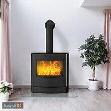 Fireplace Adamis Kaminofen Stahl Schwarz / A+