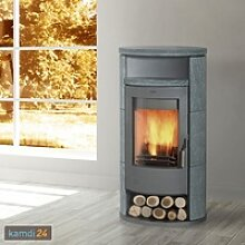 Fireplace Alicante Kaminofen Stahl Gussgrau /