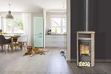 Fireplace Kaminofen Alicante Loticstone, schwarz,