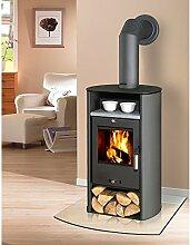 Fireplace Kaminofen »Santa Fé« - Stahl - 6 kW - mit Speckstein - max. 108 m³
