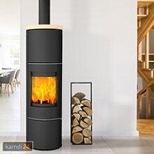Fireplace Perondi Kaminofen RLU Stahl Schwarz /