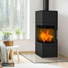 Fireplace Royal Kaminofen Stahl Schwarz / A+