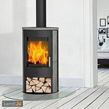 Fireplace Zaria Kaminofen Stahl Schwarz /