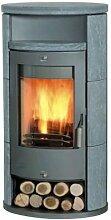 Fireplace Zeitbrandofen Alicante Speckstein 61.6x58.6x126.4cm