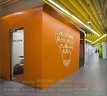 Firmenbüro Schule kreative Idee Glühbirne