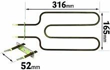 First4spares 1150 Watt Grill, Backofen Heißluft Backofen für Rangemaster